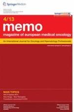 memo - Magazine of European Medical Oncology 4/2013