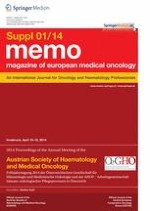memo - Magazine of European Medical Oncology 1/2014