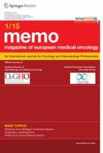 memo - Magazine of European Medical Oncology 1/2015