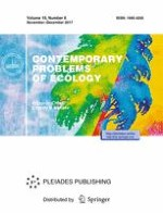 Contemporary Problems of Ecology 6/2017
