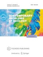 Contemporary Problems of Ecology 6/2018