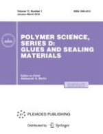 Polymer Science, Series D 1/2018