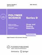 Polymer Science, Series D 2/2013