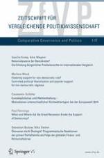 Zeitschrift für Vergleichende Politikwissenschaft 1/2017