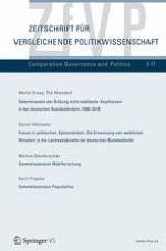 Zeitschrift für Vergleichende Politikwissenschaft 3/2017