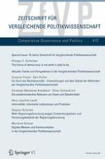 Zeitschrift für Vergleichende Politikwissenschaft 4/2017