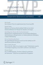 Zeitschrift für Vergleichende Politikwissenschaft 1/2019