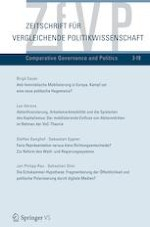 Zeitschrift für Vergleichende Politikwissenschaft 3/2019