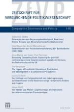 Zeitschrift für Vergleichende Politikwissenschaft 1/2009