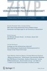 Zeitschrift für Vergleichende Politikwissenschaft 4/2013