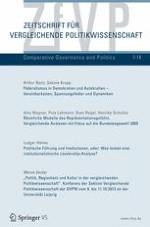 Zeitschrift für Vergleichende Politikwissenschaft 1/2014