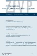 Zeitschrift für Vergleichende Politikwissenschaft 2/2014