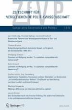 Zeitschrift für Vergleichende Politikwissenschaft 1-2/2015