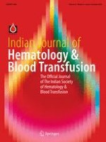 Indian Journal of Hematology and Blood Transfusion 4/2016