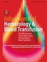 Indian Journal of Hematology and Blood Transfusion 1/2017