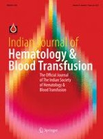 Indian Journal of Hematology and Blood Transfusion 2/2017