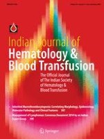 Indian Journal of Hematology and Blood Transfusion 3/2018