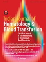 Indian Journal of Hematology and Blood Transfusion 4/2020