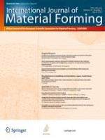 International Journal of Material Forming 1/2008