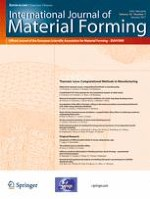 International Journal of Material Forming 1/2017
