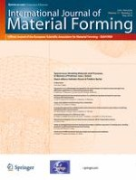 International Journal of Material Forming 3/2018