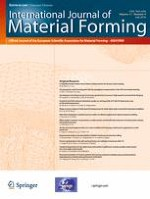 International Journal of Material Forming 4/2018