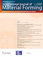 International Journal of Material Forming 5/2020