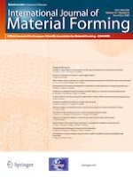 International Journal of Material Forming 6/2020