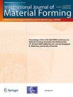 International Journal of Material Forming 1/2009