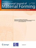International Journal of Material Forming 3/2016