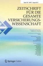 Zeitschrift für die gesamte Versicherungswissenschaft 3/2013