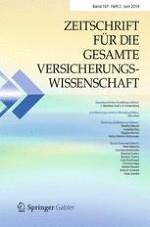 Zeitschrift für die gesamte Versicherungswissenschaft 2/2018