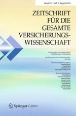 Zeitschrift für die gesamte Versicherungswissenschaft 3/2018