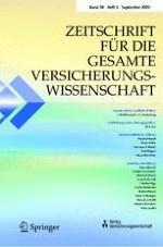 Zeitschrift für die gesamte Versicherungswissenschaft 3/2009