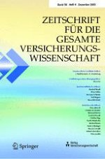 Zeitschrift für die gesamte Versicherungswissenschaft 4/2009