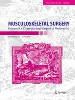 MUSCULOSKELETAL SURGERY 1/2016