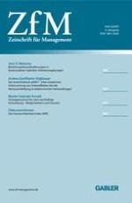 Zeitschrift für Management 4/2009