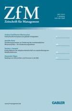 Zeitschrift für Management 1/2010