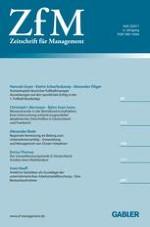 Zeitschrift für Management 2/2011