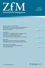 Zeitschrift für Management 4/2011