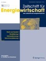 Zeitschrift für Energiewirtschaft 1/2012