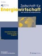 Zeitschrift für Energiewirtschaft 4/2016