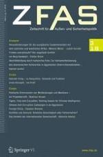 Zeitschrift für Außen- und Sicherheitspolitik 3/2018