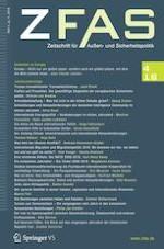 Zeitschrift für Außen- und Sicherheitspolitik 4/2018