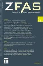 Zeitschrift für Außen- und Sicherheitspolitik 2/2011