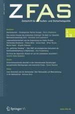 Zeitschrift für Außen- und Sicherheitspolitik 1/2013