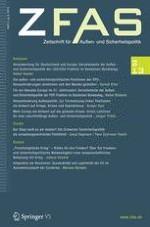 Zeitschrift für Außen- und Sicherheitspolitik 2/2013