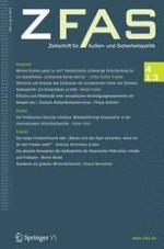 Zeitschrift für Außen- und Sicherheitspolitik 4/2013