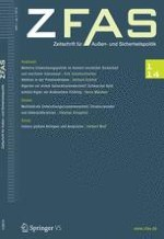 Zeitschrift für Außen- und Sicherheitspolitik 1/2014