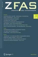 Zeitschrift für Außen- und Sicherheitspolitik 2/2014